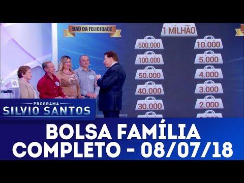 Bolsa Família - Completo | Programa Silvio Santos (08/07/18)