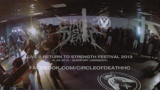 Circle of Death Live @ Return to Strength Festival 2013 (HD)
