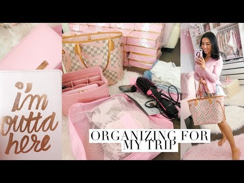 ORGANIZE FOR MY TRIP AND TRAVEL ESSENTIALS! 30 MIN VLOG!💕 thumbnail