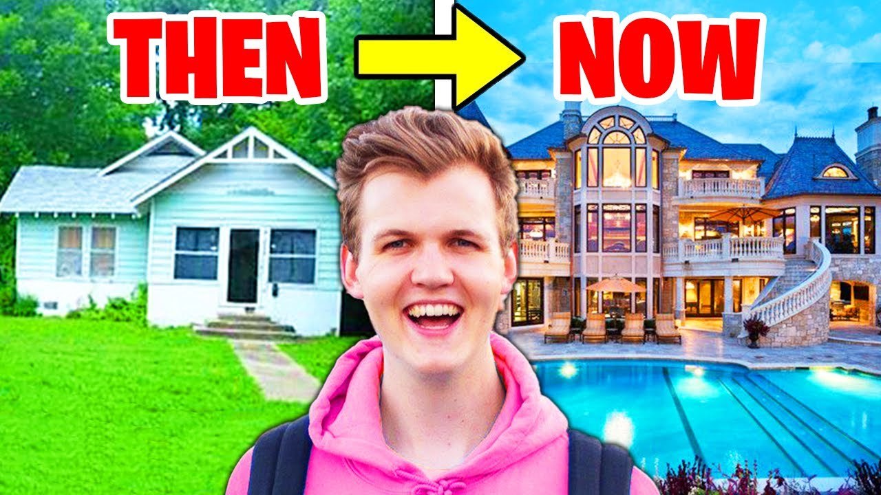Download 5 YouTubers Houses Then And Now! (LankyBox, MrBeast, Jelly, Unspeakable)