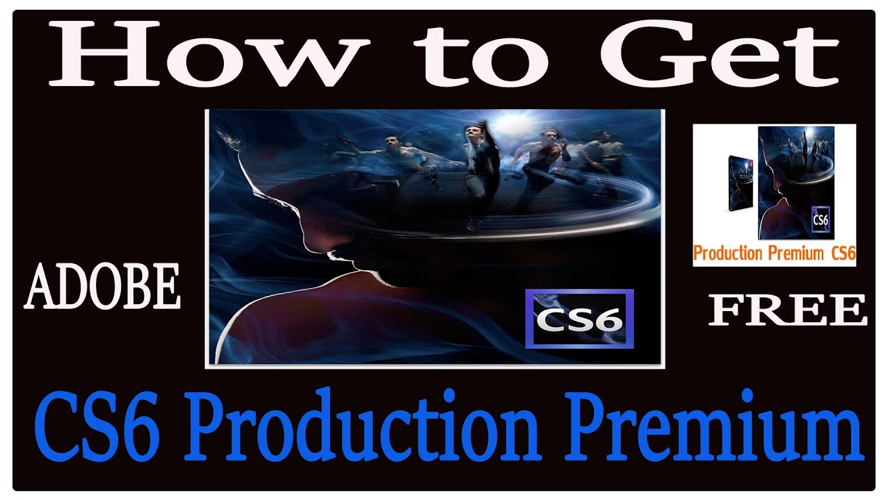 Adobe production premium cs6 download
