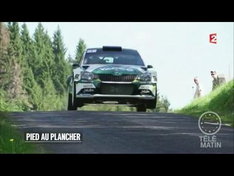 Sport samedi - Dans la roue d'un pilote de rallye