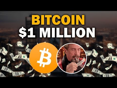John McAfee Doubles Down, Predicts $1 Million Per BitCoin By 2020 BUY BTC NOW!
