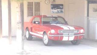 1965 Mustang Straight 6 Exhaust