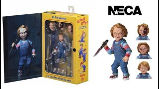 Распаковка Чаки из франшизы фильмов про Чаки Chucky Child s Play Neca
