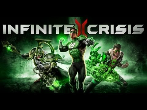 Infinite Crisis Gameplay [ PC HD ]