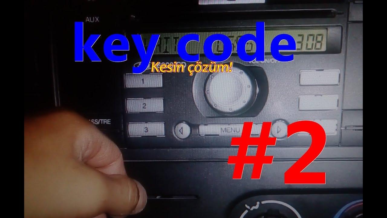 ford teyp code sorunu - youtube
