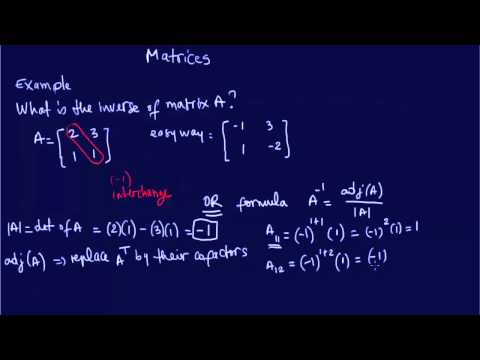 MATRICES: FE-EIT Review Exam