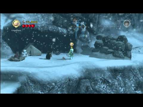 Lego Lord Of The Rings: Level 4/The Pass Of Caradhras - FREE PLAY - All Collectables - HTG
