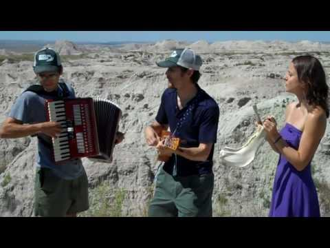 David Wax Museum - Born with a Broken Heart (filmed in the Badlands of SD)