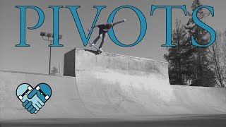 Skateboarding Lessons From Axle Stall Fakie To Pivot Fakie 5-0 Stall Combinations On Transitions