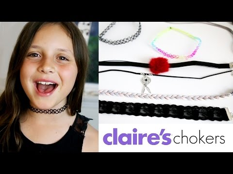 Claire's Chokers / Claire's Haul / Nelly Cherry
