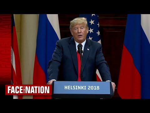 """Open: This is """"Face the Nation,"""" July 22, 2018"""