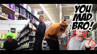 Mad over a Shart? Really guy? WET Shart Prank!!! Season 3 EP6 Ladder shart to the face!
