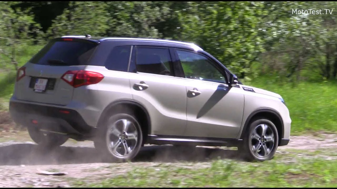 new suzuki vitara 2015 suv test youtube. Black Bedroom Furniture Sets. Home Design Ideas
