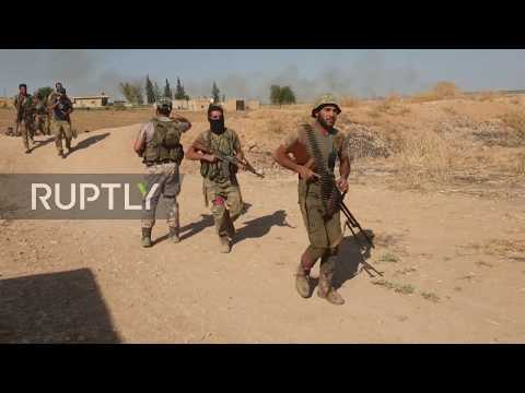 Syria: Turkish-backed forces