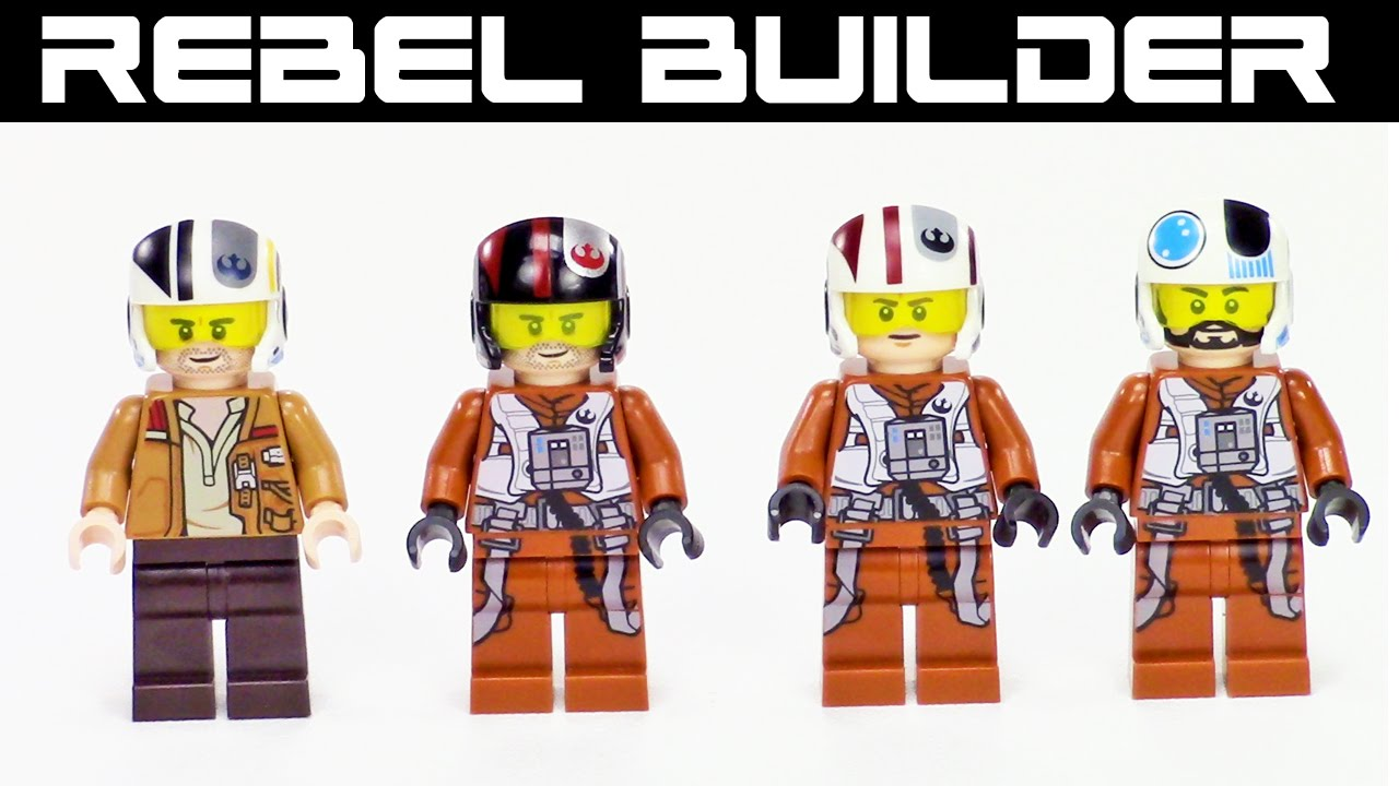 Lego Star Wars Rebel Pilot
