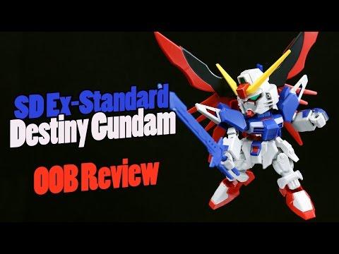 656 - SD Ex-Standard Destiny Gundam (OOB Review)