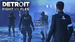 Fight vs Flee (Connor