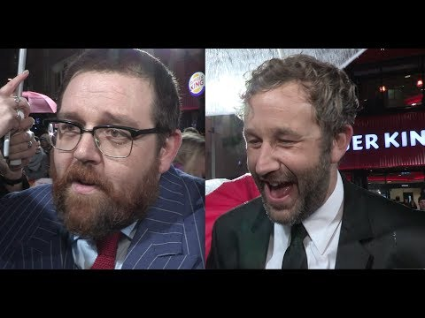 Cuban Fury - World Premiere interviews include Nick Frost, Chris O'Dowd and Ian McShane