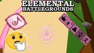 Sound Element Demonstrate (Showcase) | Roblox Elemental Battleground