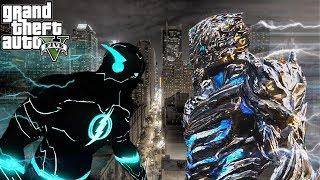 【GTA5】未來閃電俠 vs 極速之神薩維塔 #14||超越極限的神速力!(The Flash mod)