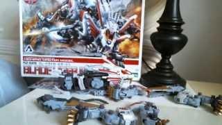 Zoids HMM Blade Liger Mirage Model Kit Review