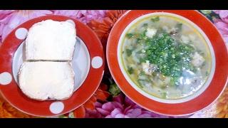 Очень вкусный , лёгкий суп из за печеной скумбрии.