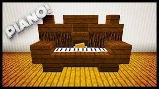 MCPE 1.2 Trik membuat piano di minecraft PE