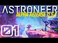 BRAND NEW PATCH! NEW LIGHTING, COLORS, AND RESEARCH TWEAKS | Astroneer Alpha 0.5.1 #1