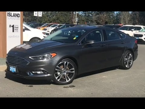 2018 Ford Fusion Titanium, Backup Camera, Moonroof, AWD Review| Island Ford