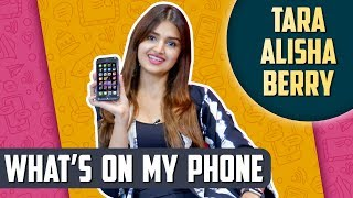 What's On My Phone With Tara Alisha Berry   SECRETS Revealed   EXCLUSIVE
