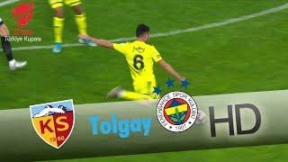 Tolgay'ın şutu az farkla auta gidiyor! | Hes Kablo Kayserispor - Fenerbahçe