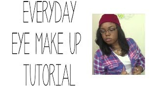 Everyday Eye Makeup Tutorial Thumbnail