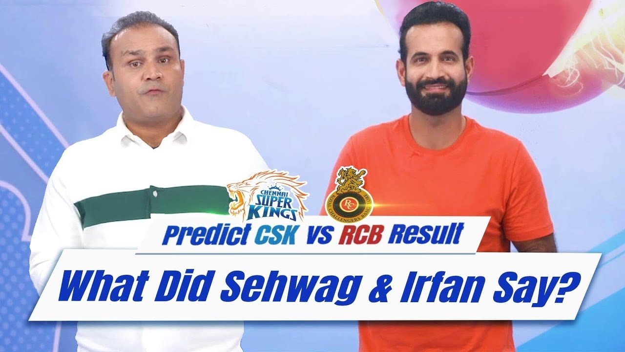 RCB vs CSK- Sehwag and Irfan's prediction | UC Cricket | UC Browser