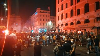 Football Champions League Scenes of joy in Marseille after PSG s defeat AFP