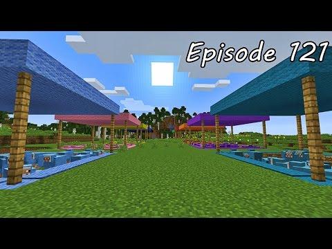 Minecraft เอาชีวิตรอด - Episode 121 - ตกแต่งฟาร์มแกะหลากสี