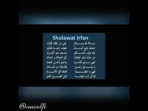 Sholawat Irfan (Unialfi)