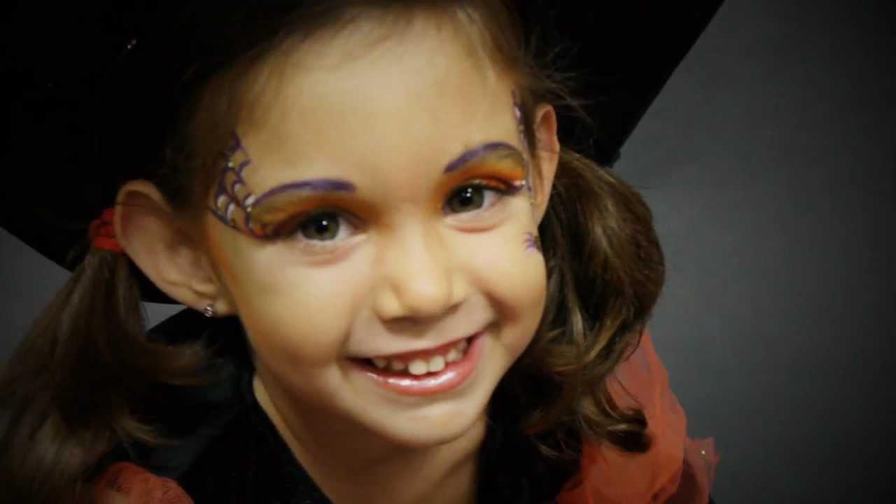 Maquillaje De Fantasia Propuestas Halloween 2012 Ten Image Paso A - Maquillaje-bruja-para-nia