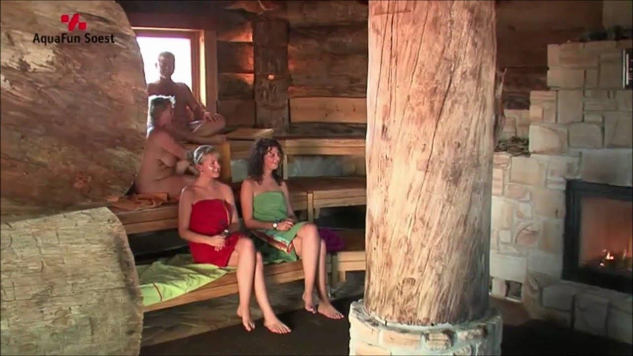 nrw soest aquafun insauna auszeichnung landessauna 2 perlen youtube. Black Bedroom Furniture Sets. Home Design Ideas