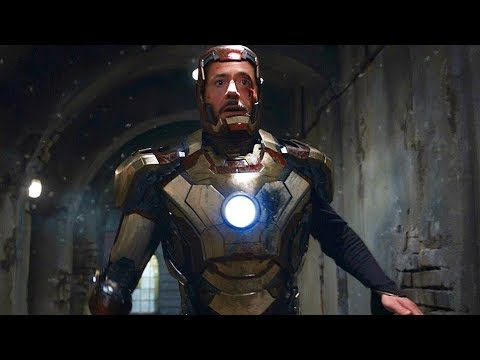 "Tony Stark Escape Scene - ""5,4,3,2,1 - Told You"" - Iron Man 3 (2013) Movie CLIP HD"