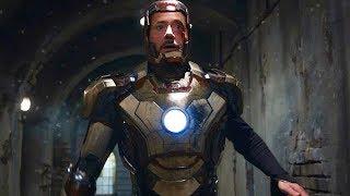 """Tony Stark Escape Scene - """"5,4,3,2,1 - Told You"""" - Iron Man 3 (2013) Movie CLIP HD"""