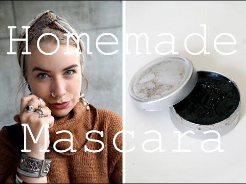 DIY Zero Waste Mascara // No Plastic // Two ingredients !