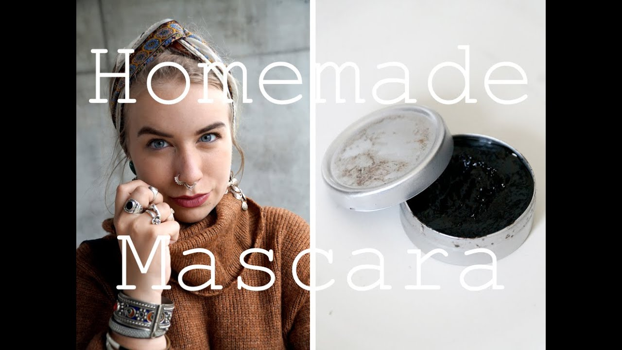 DIY Zero Waste Mascara // No Plastic // Two ingredients !