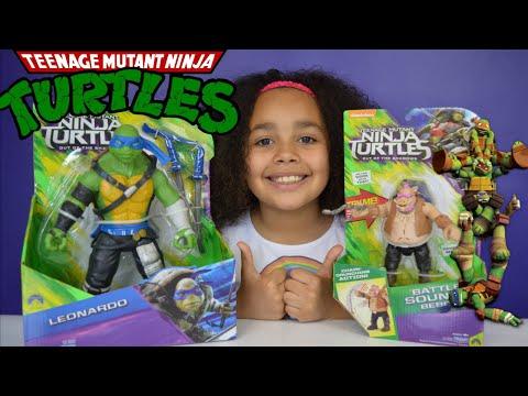 Teenage Mutant Ninja Turtles - Out Of The  Shadows - TMNT Battle Sounds Bebop,Leonardo