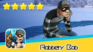 Robbery Bob™ - Level Eight AB - Winter 7-8 Walkthrough Stylish Suit Recommend index five stars