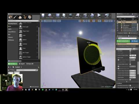 Unreal Engine 4 Directional Gravity and Gravitation Simulation Tutorial