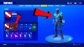 *NEW* BLOCKBUSTER SKIN & BACKBLING SHOWCASE! + BONUS BATTLE STAR LOCATION! | FORTNITE BATTLE ROYAL