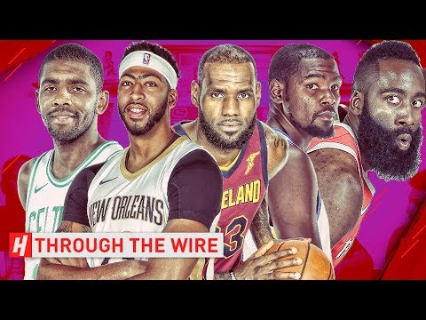 Top 10 NBA Players At Every Position  Through The Wire Podcast