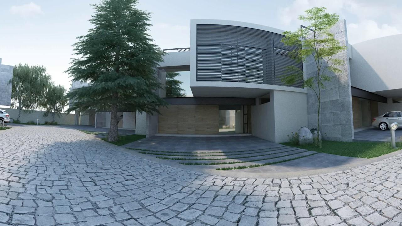 Etxea Arquitectura Proyecto Las Fuentes Exterior 360 Youtube - Fuentes-exterior